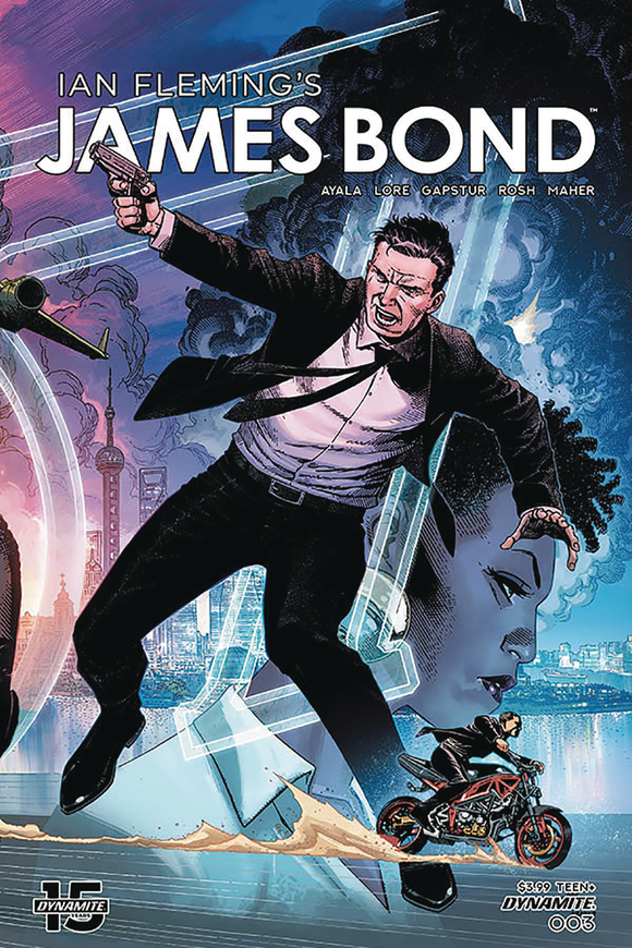 JAMES BOND #3 CVR A CHEUNG FOLD OUT