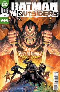 BATMAN AND THE OUTSIDERS #16 CVR A TYLER KIRKHAM