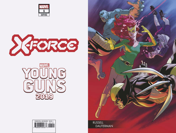 X-FORCE #1 DAUTERMAN YOUNG GUNS VAR DX