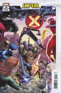 X-MEN #10 ZIRCHER CONFRONTATION VAR EMP