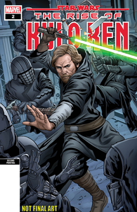 STAR WARS RISE KYLO REN #2 (OF 4) 2ND PTG SLINEY VAR