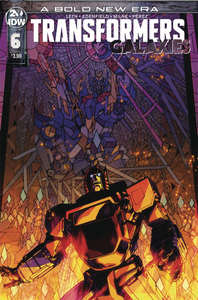 TRANSFORMERS GALAXIES #6 CVR A MILNE
