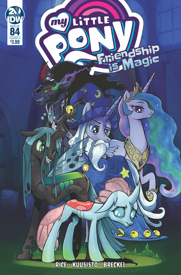 MY LITTLE PONY FRIENDSHIP IS MAGIC #84 CVR A KUUSISTO