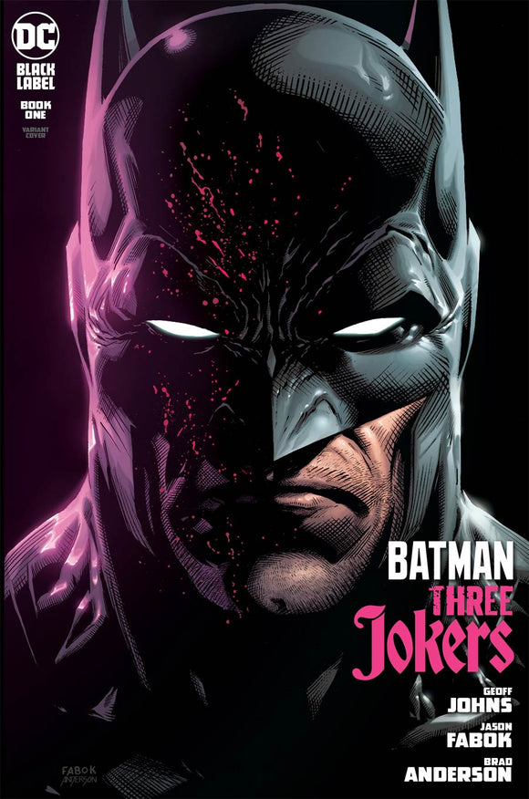 BATMAN THREE JOKERS #1 (OF 3) CVR B JASON FABOK BATMAN VAR