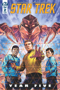 STAR TREK YEAR FIVE #2 CVR A THOMPSON