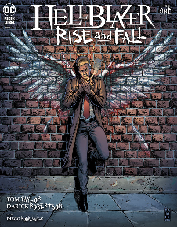 HELLBLAZER RISE AND FALL #1 (OF 3) CVR A DARICK ROBERTSON