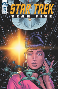 STAR TREK YEAR FIVE #6 CVR A THOMPSON
