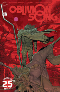 OBLIVION SONG BY KIRKMAN & DE FELICI #25 CVR A DE FELICI (MR