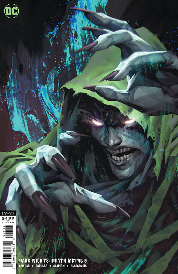 DARK NIGHTS DEATH METAL #5 (OF 7) CVR D KAEL NGU SPECTRE VAR