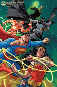 JUSTICE LEAGUE #51 CVR B NICK DERINGTON VAR
