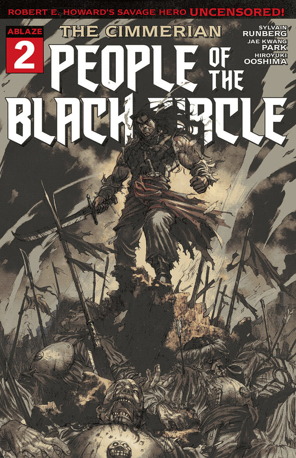 CIMMERIAN PEOPLE OF BLACK CIRCLE #2 CVR B JAE KWANG PARK (MR