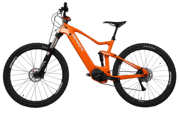 carbon mountain e-bike E04