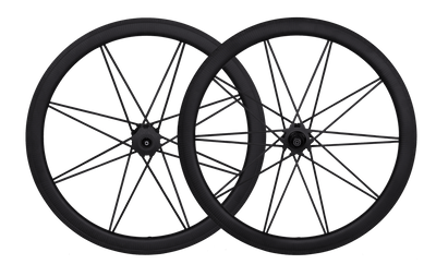 carbon spoke road bike wheel