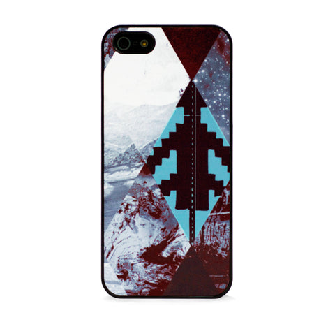 AZTEC MULTI ARGYLE MINT IPHONE 5/5S CASE