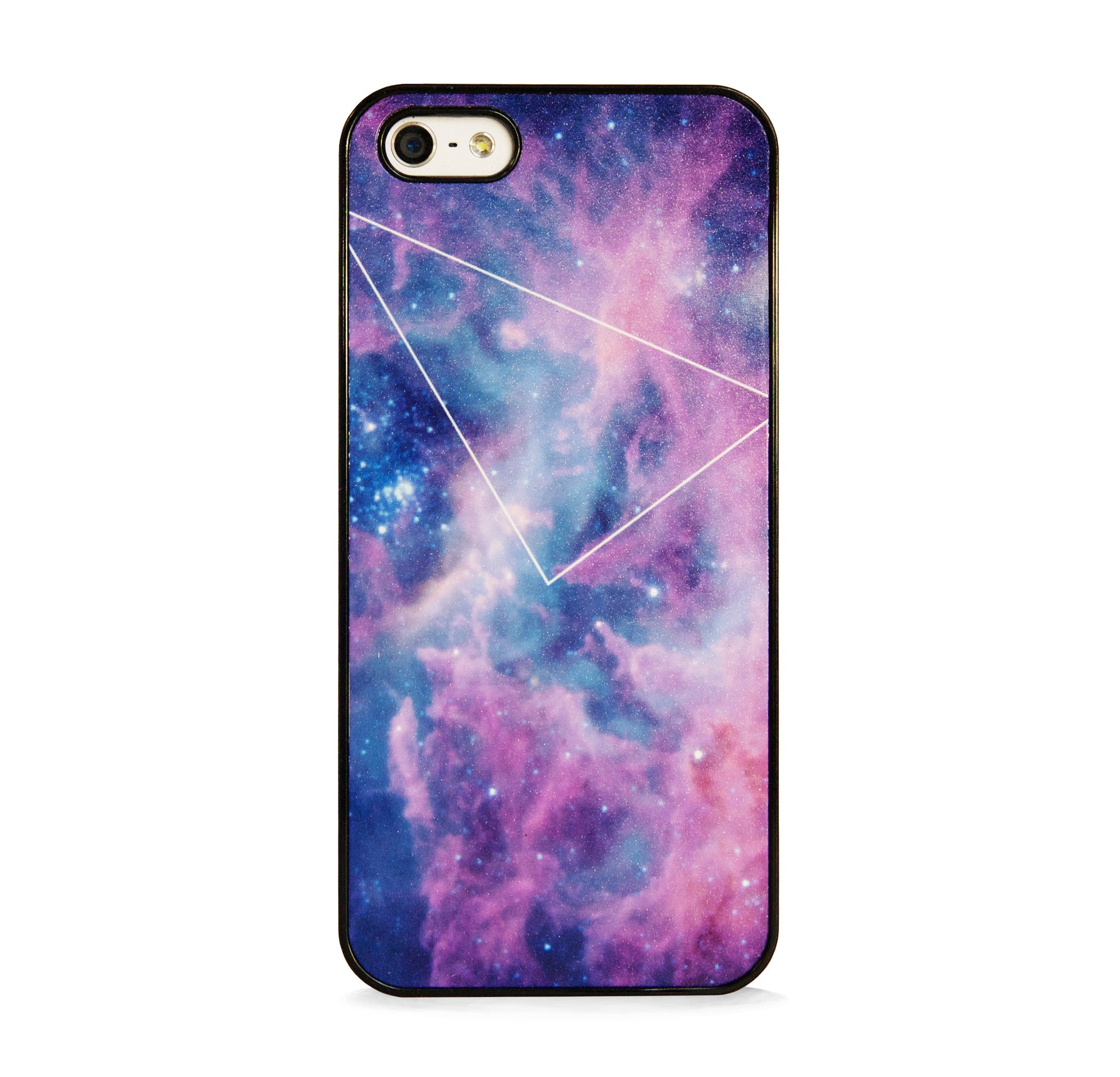 GALAXY PURPLE WITH GEO LINE FOR IPHONE 5/5S
