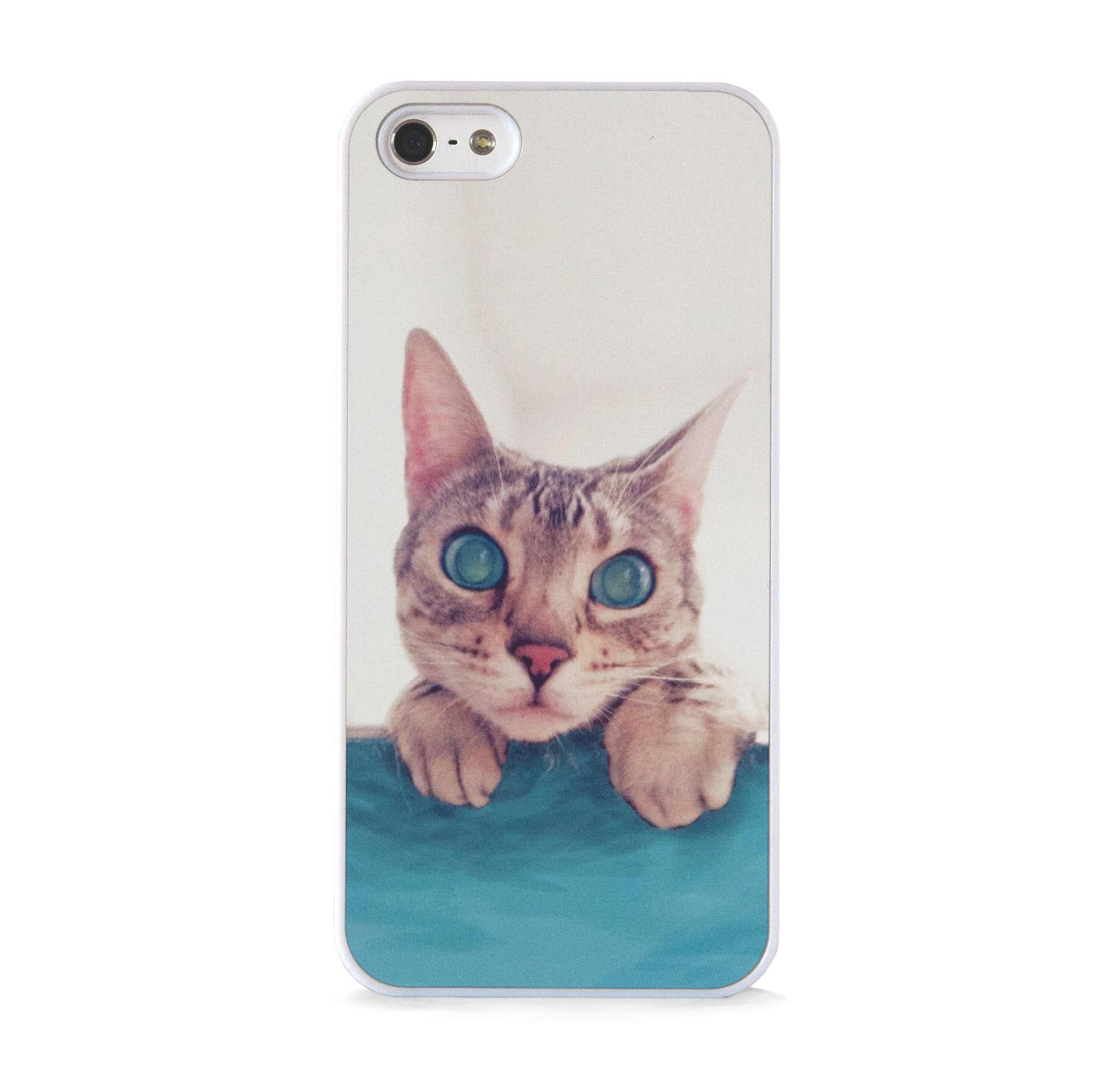 CUTE CAT MINT FOR IPHONE 5/5S, IPHONE SE