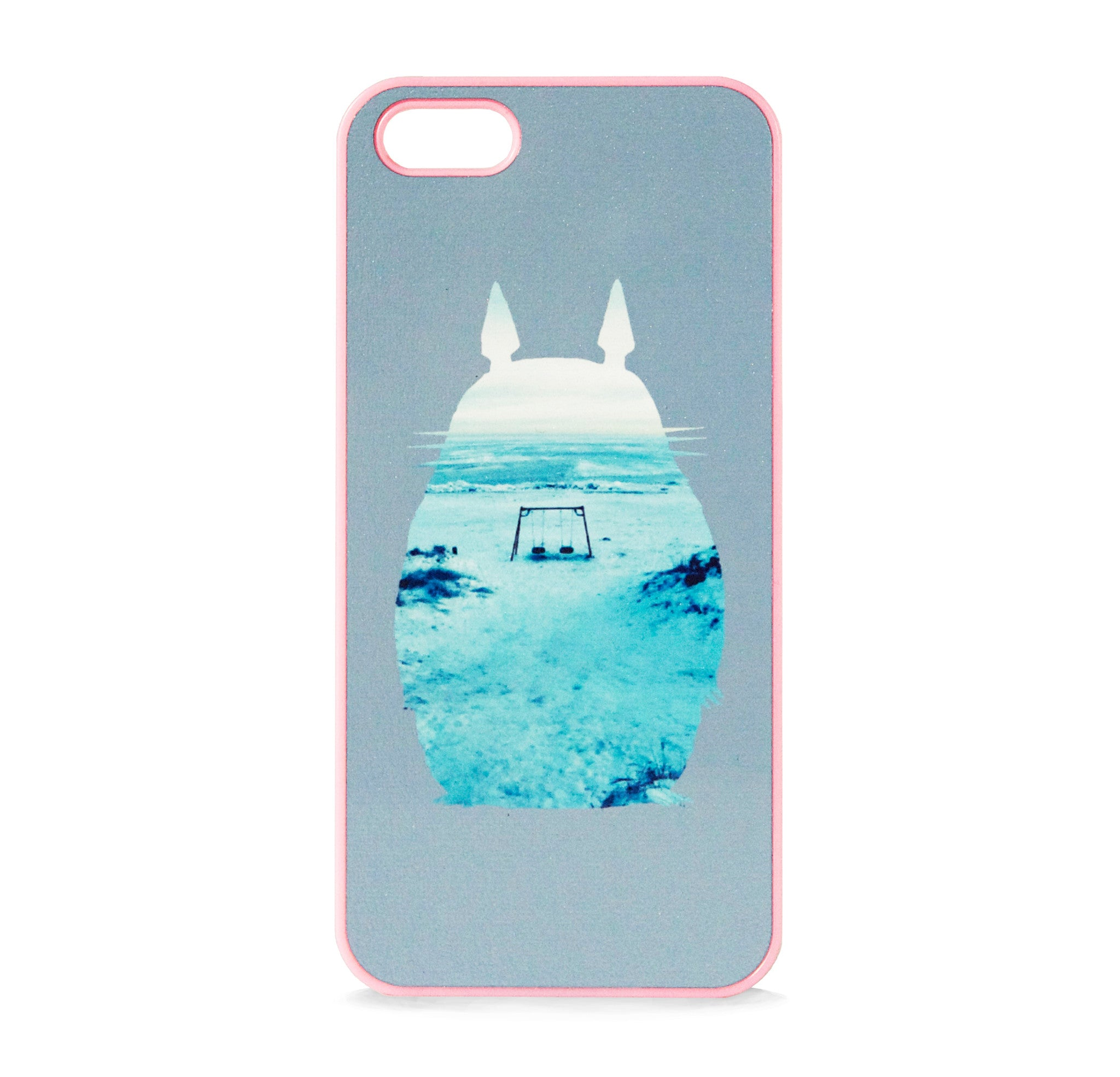 TOTORO GREY WINTER IPHONE 5/5S CASE