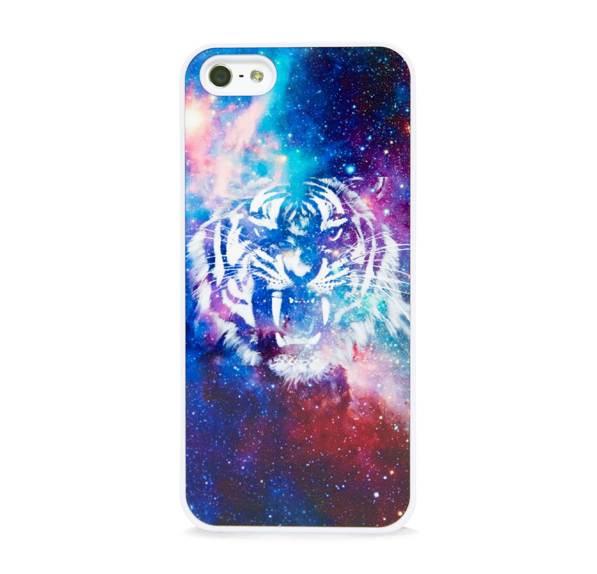 WILD TIGER IN SPACE IPHONE 5/5S CASE
