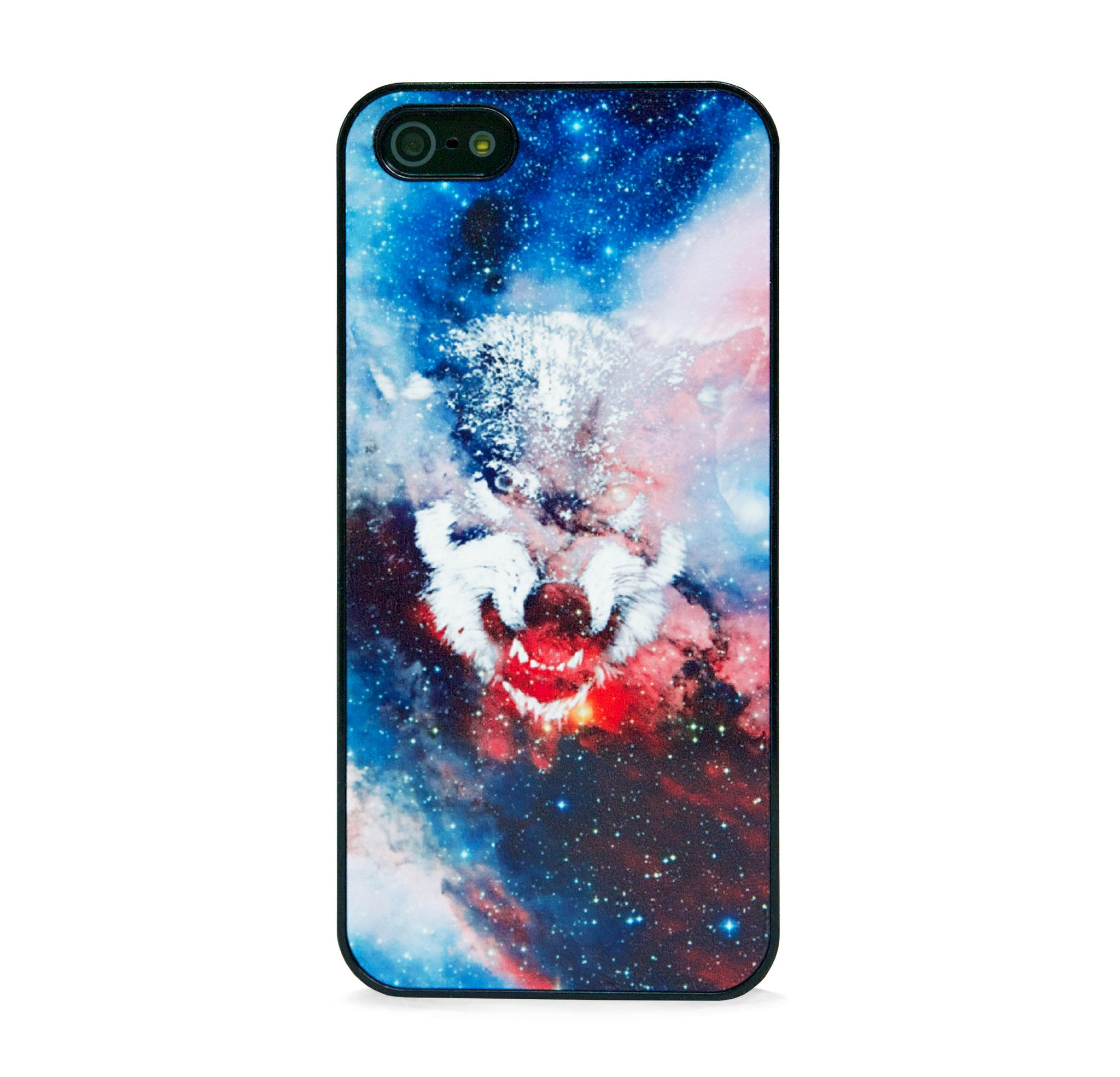 WILD WOLF IN SPACE IPHONE 5/5S CASE