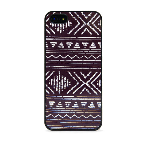 AZTEC GEO LINE BLACK IPHONE 5/5S CASE