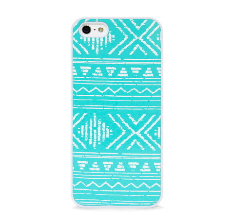 AZTEC GEO LINE MINT IPHONE 5/5S CASE
