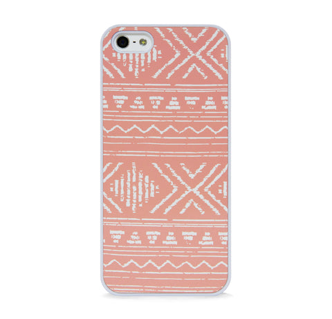AZTEC GEO LINE ORANGE IPHONE 5/5S CASE