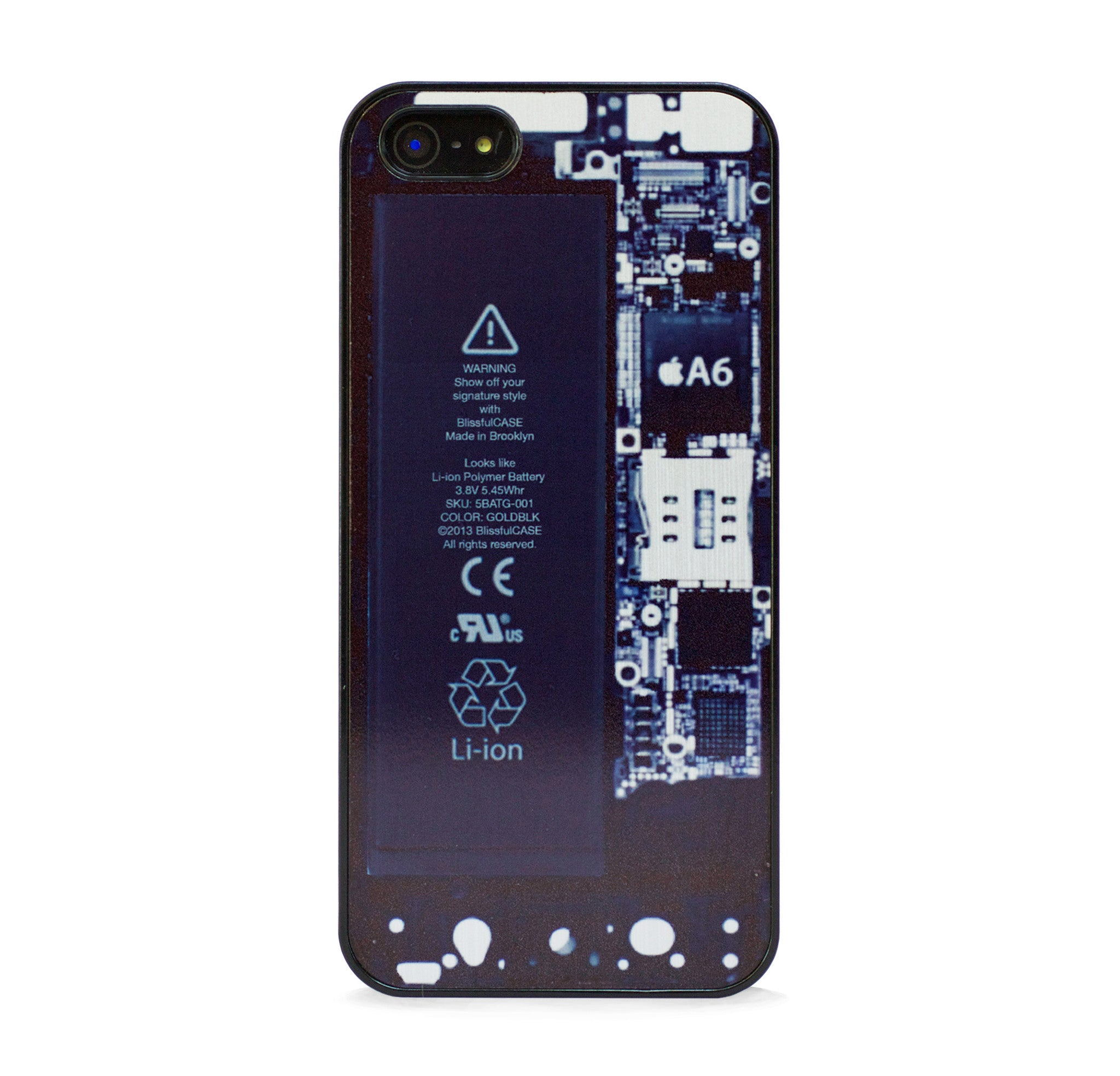 VISIBLE BACK PANEL IPHONE 5/5S CASE