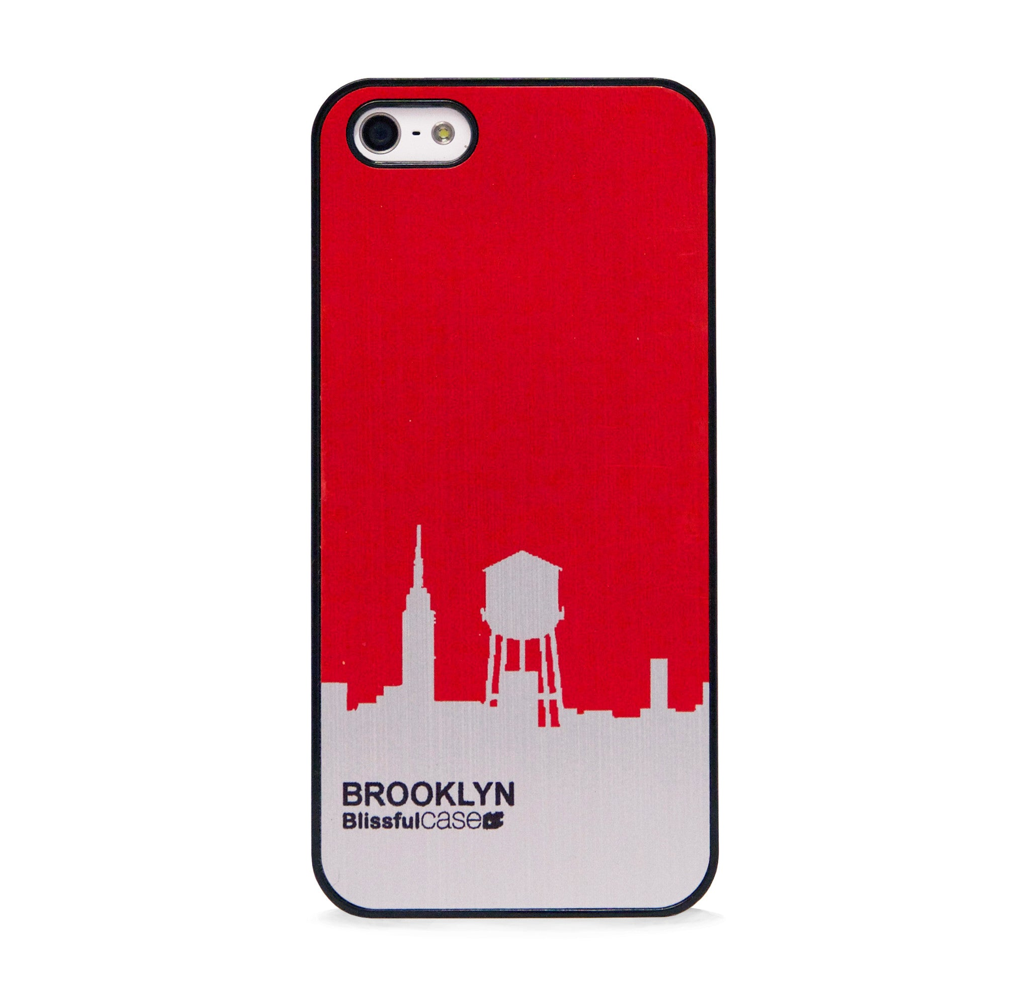 BROOKLYN RED IPHONE 5/5S CASE