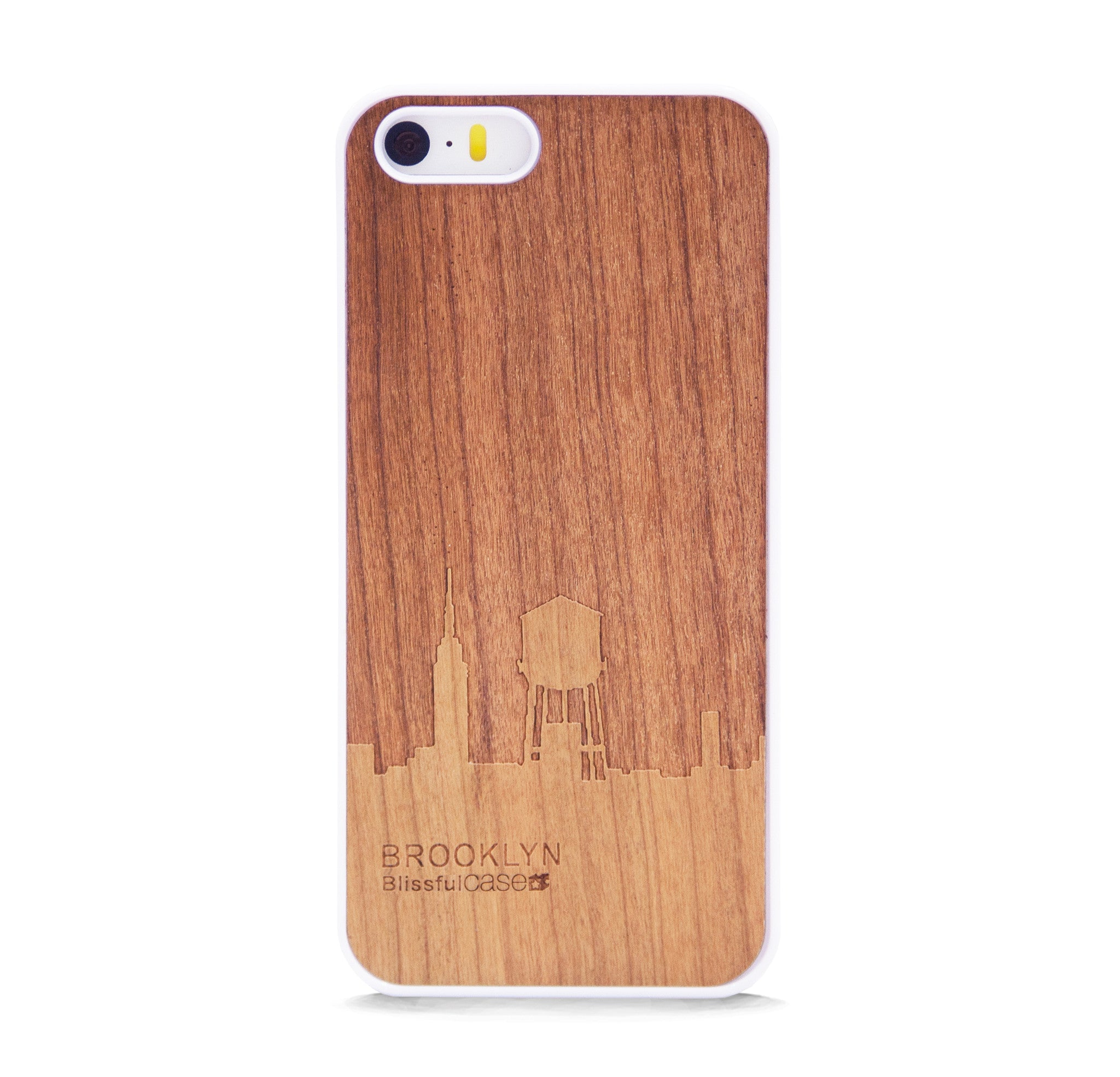 *WOOD CASE BROOKLYN FOR IPHONE 5/5s