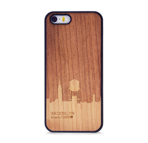 *WOOD CASE BROOKLYN FOR IPHONE 5/5s, IPHONE SE