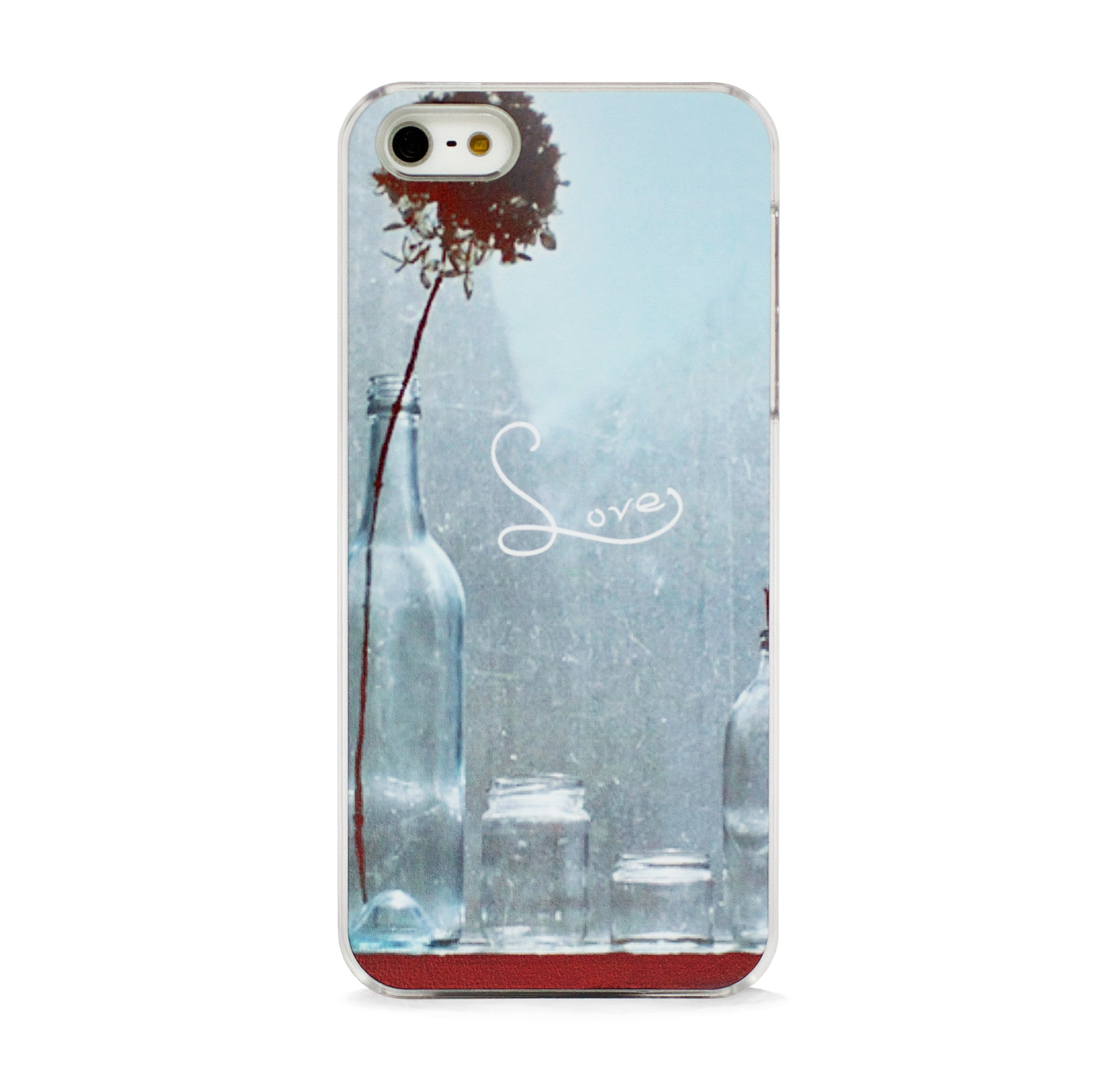 GEO NATURE BOTTLE LOVE FOR IPHONE 5/5S