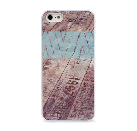 AZTEC ON WOOD MINT FOR IPHONE 5/5S, IPHONE SE