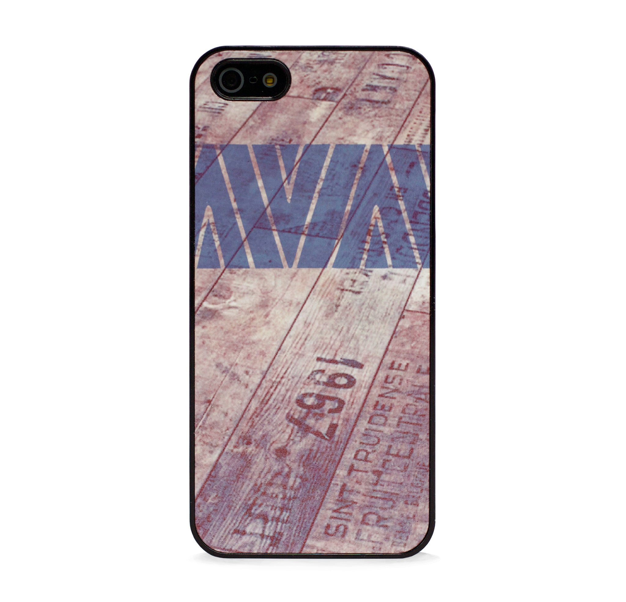 AZTEC ON WOOD GREY IPHONE 5/5S CASE