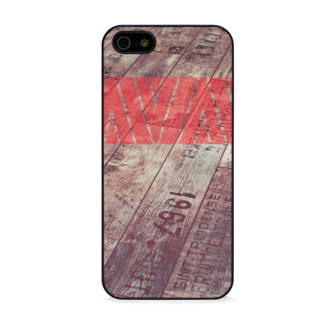 AZTEC ON WOOD RED FOR IPHONE 5/5S, IPHONE SE