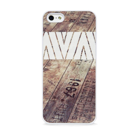 AZTEC ON WOOD WHITE FOR IPHONE 5/5S, IPHONE SE