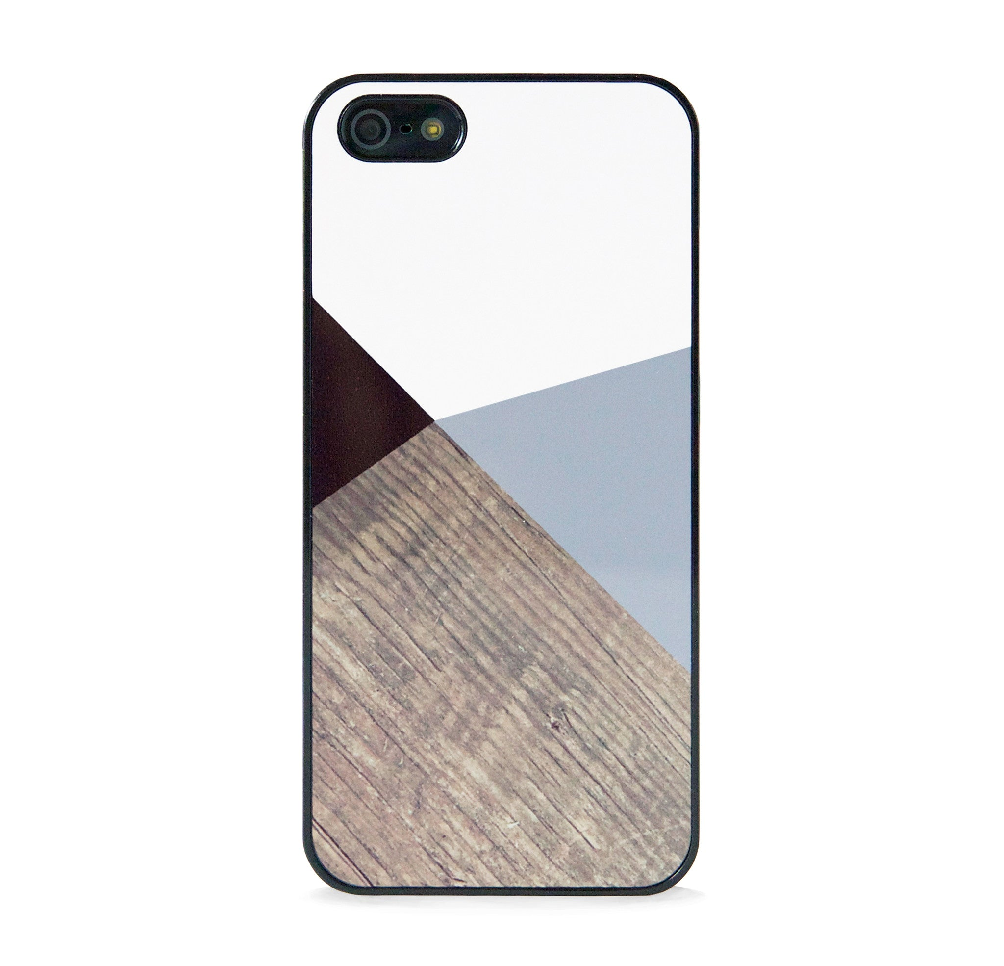 COLOR BLOCK WOOD FOR IPHONE 5/5S