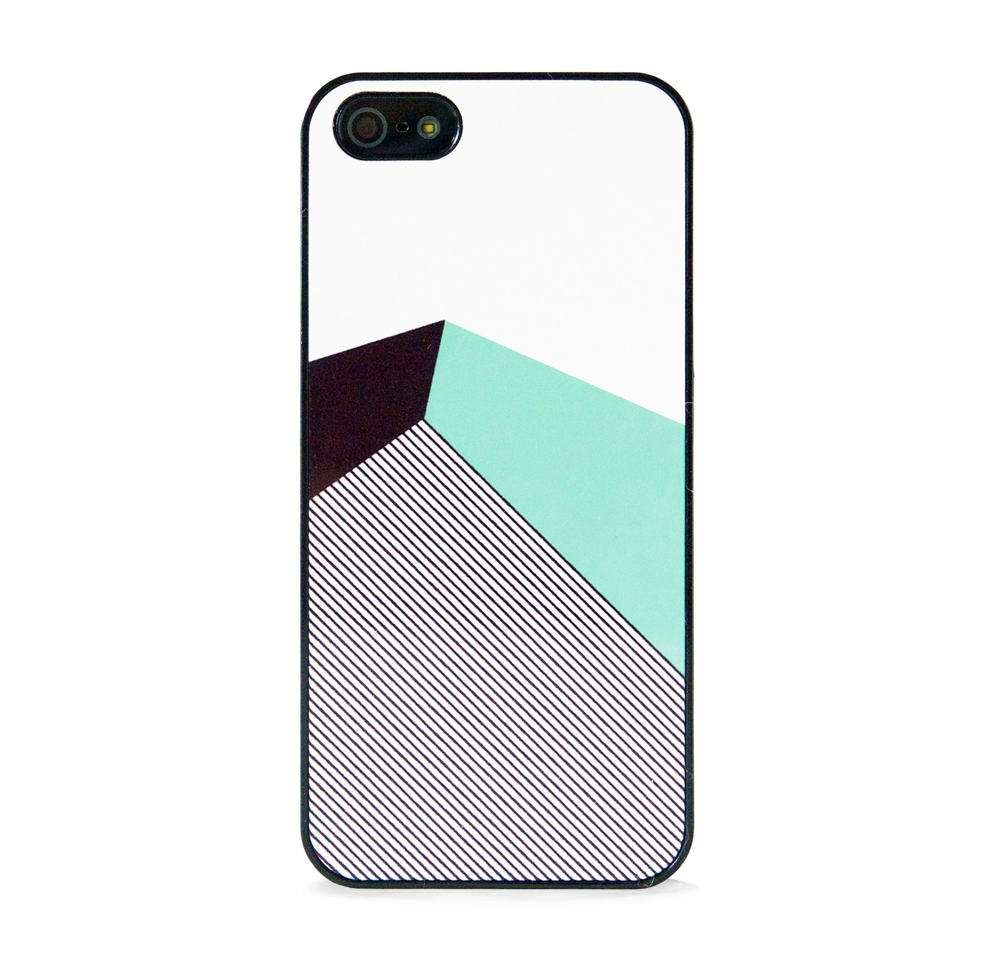 COLOR BLOCK MINT IPHONE 5/5S CASE