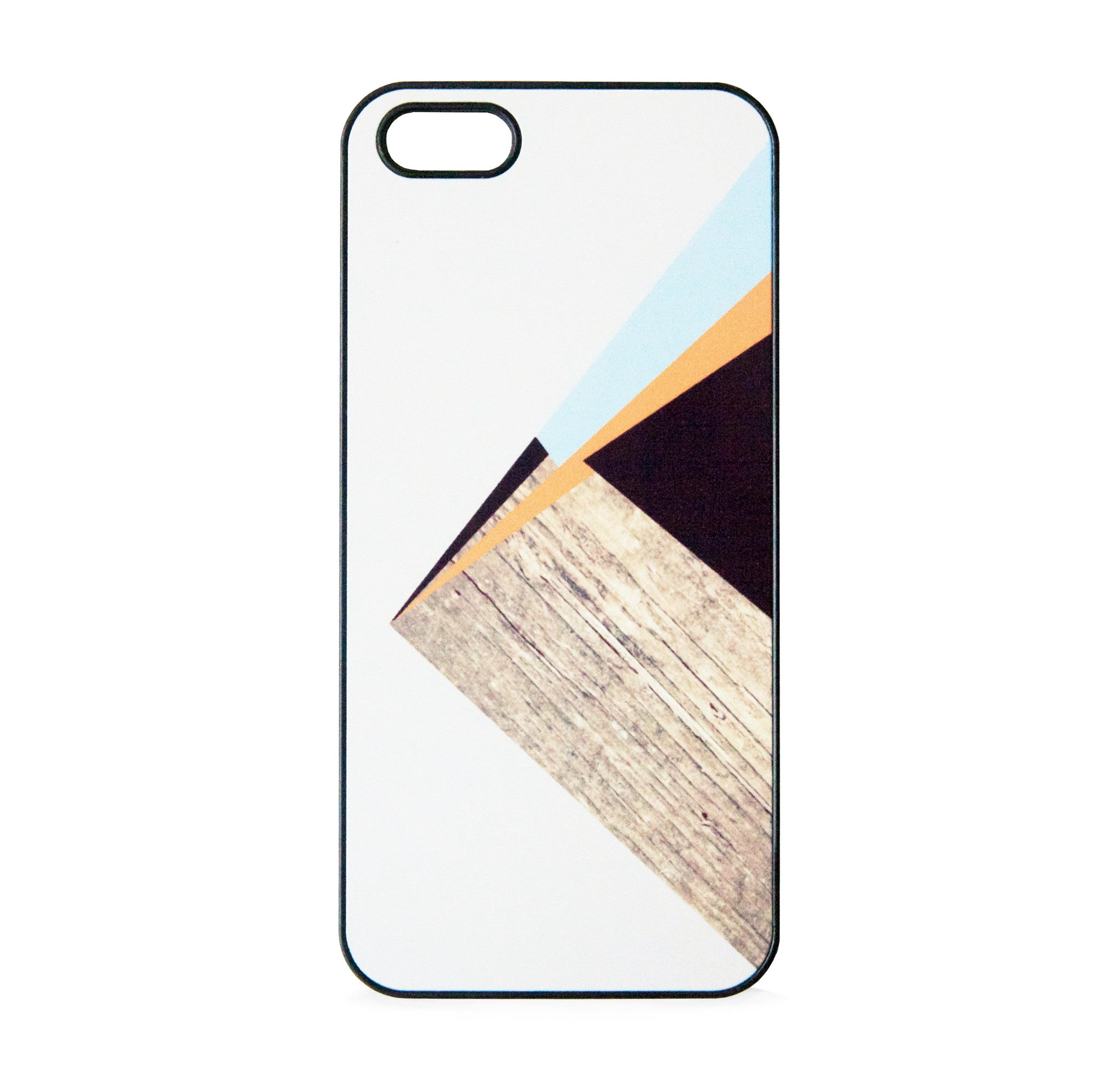 COLOR BLOCK WOOD ORANGE FOR IPHONE 5/5S