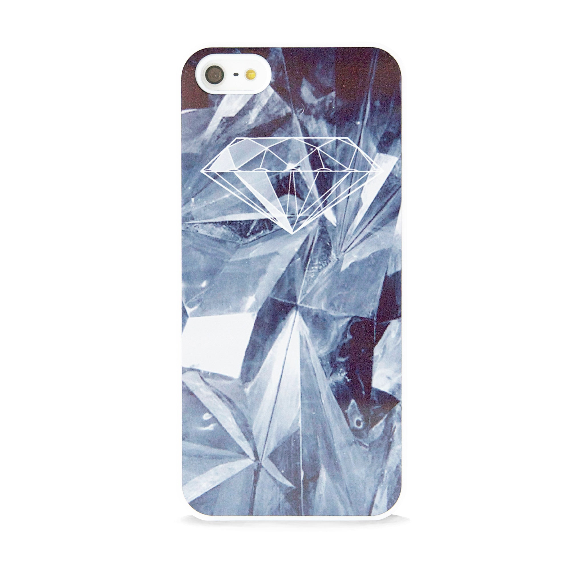 DIAMOND WHITE CRYSTAL FOR IPHONE 5/5S