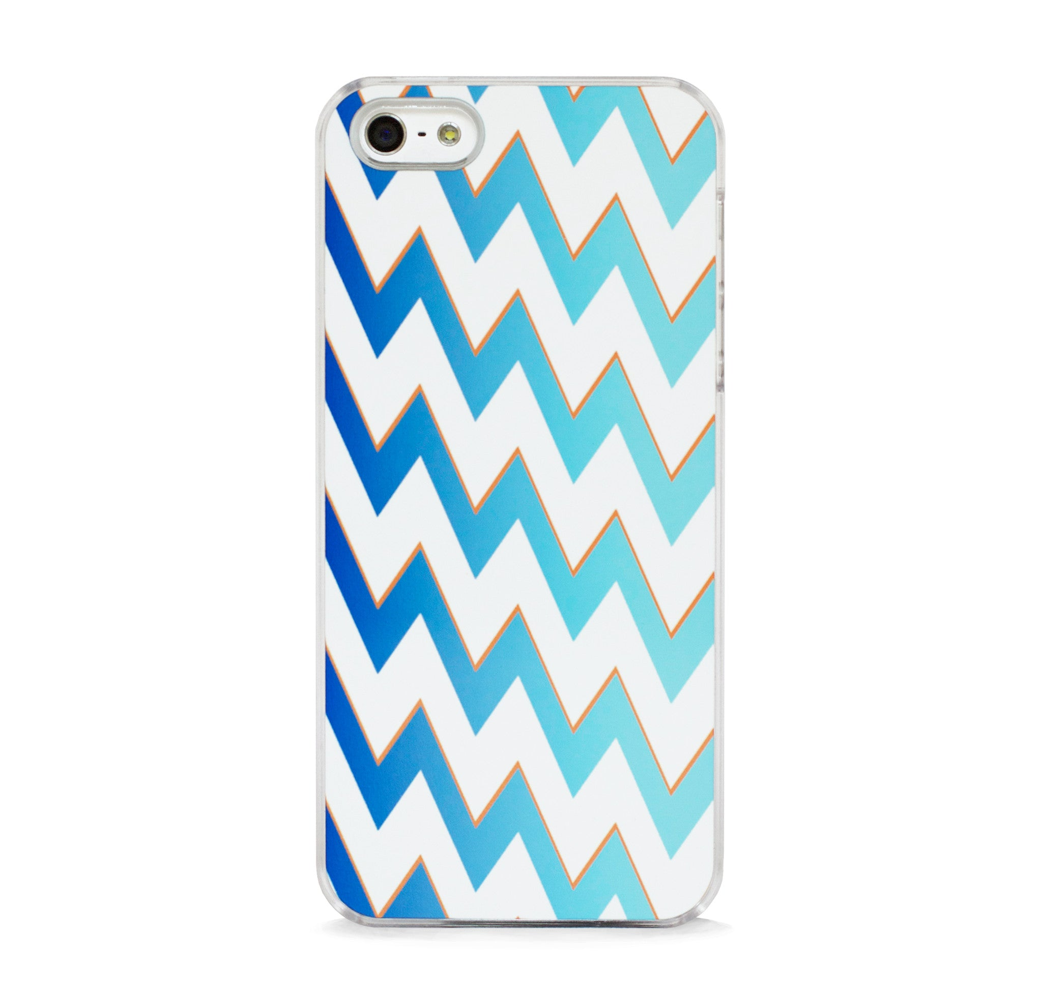 DISCO CHEVRON BLUE FOR IPHONE 5/5S