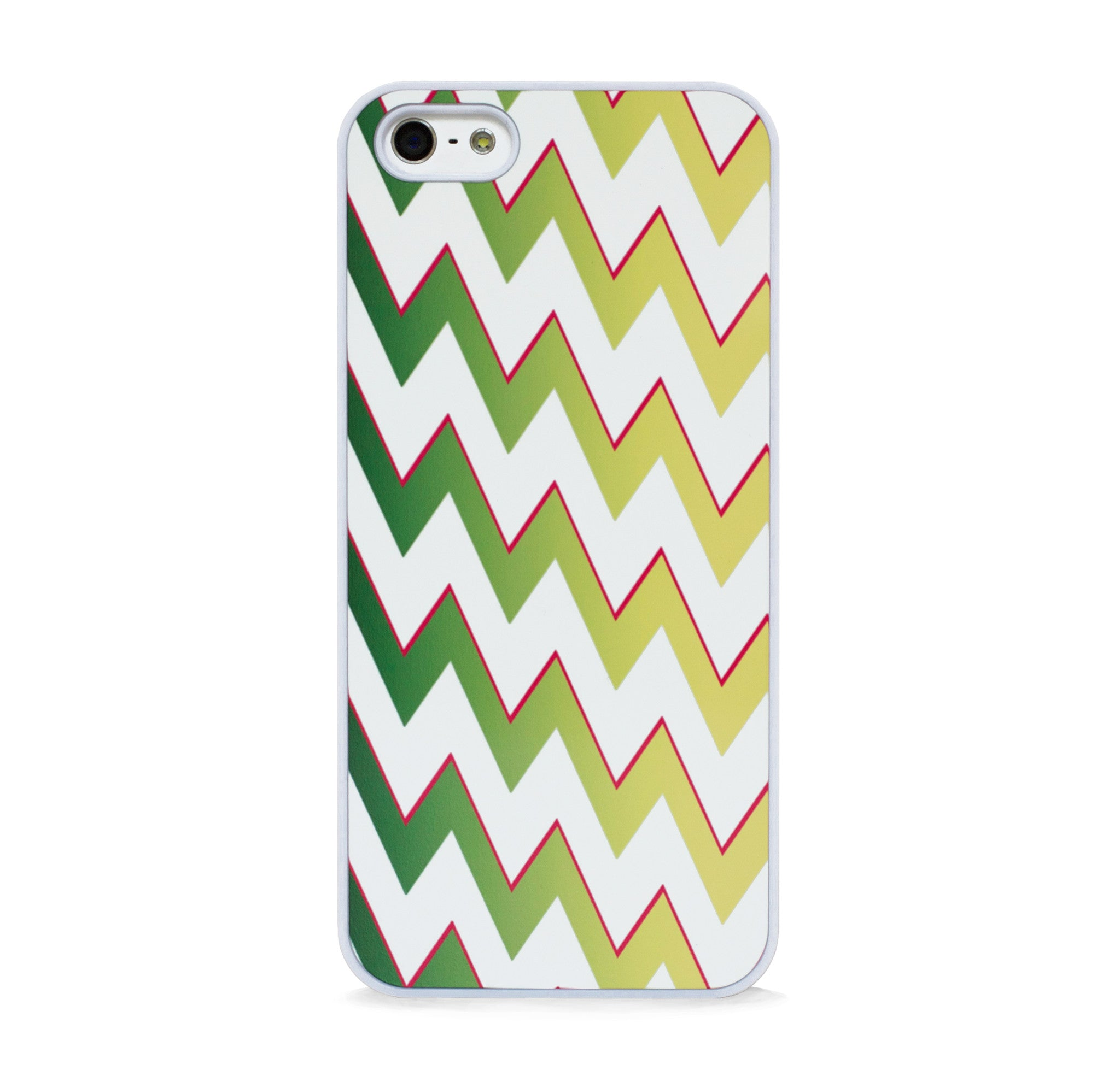 DISCO CHEVRON GREEN FOR IPHONE 5/5S
