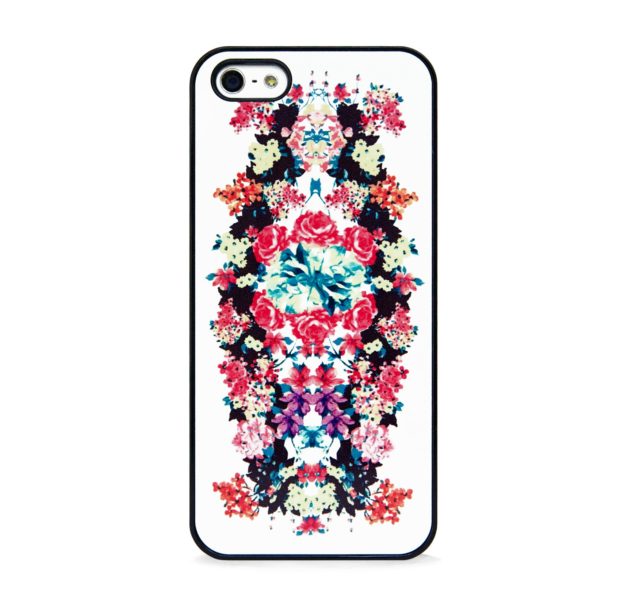 FLORAL PRINT IVORY FOR IPHONE 5/5S