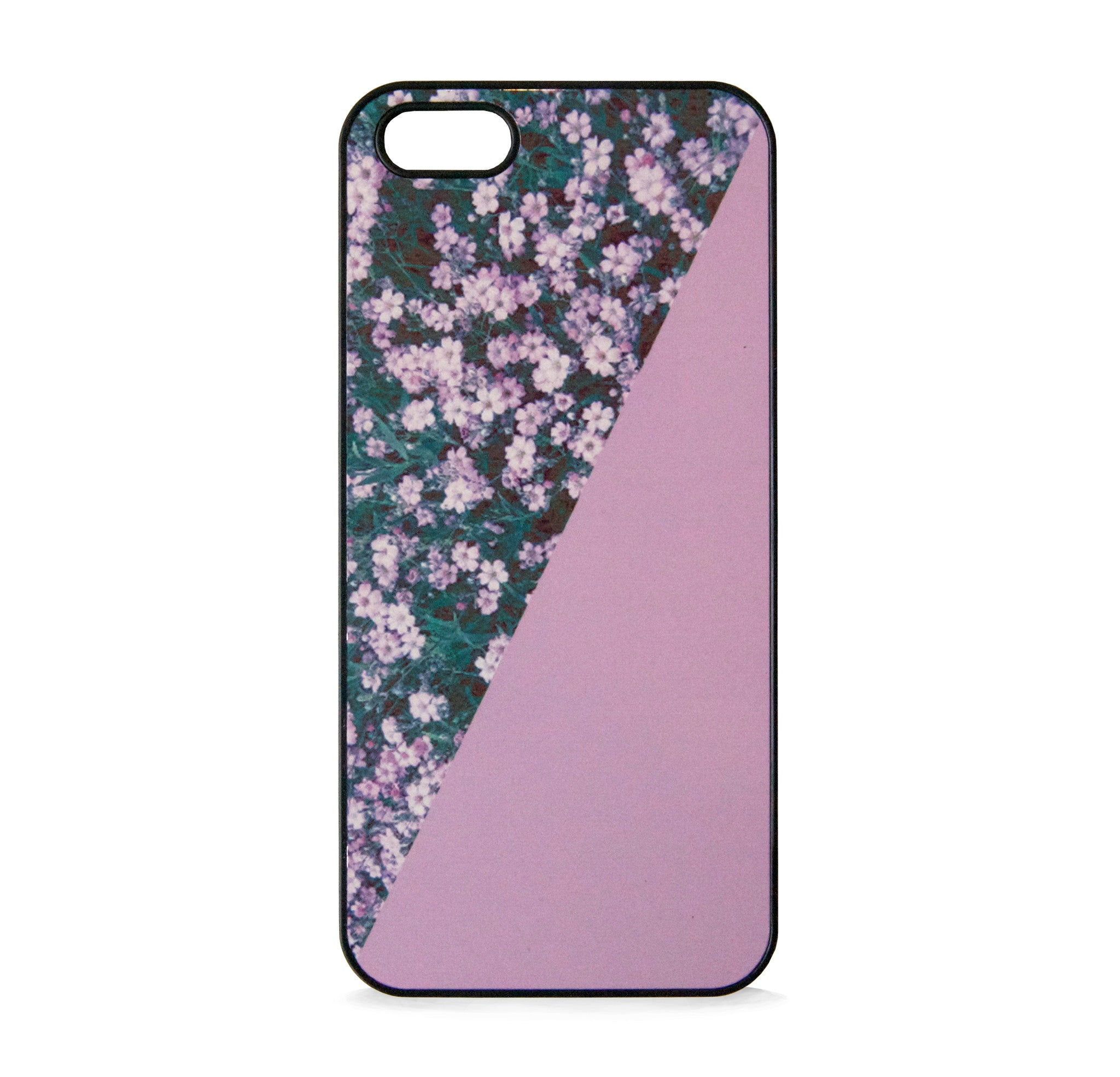 FLORAL PRINT PINK FOR IPHONE 5/5S