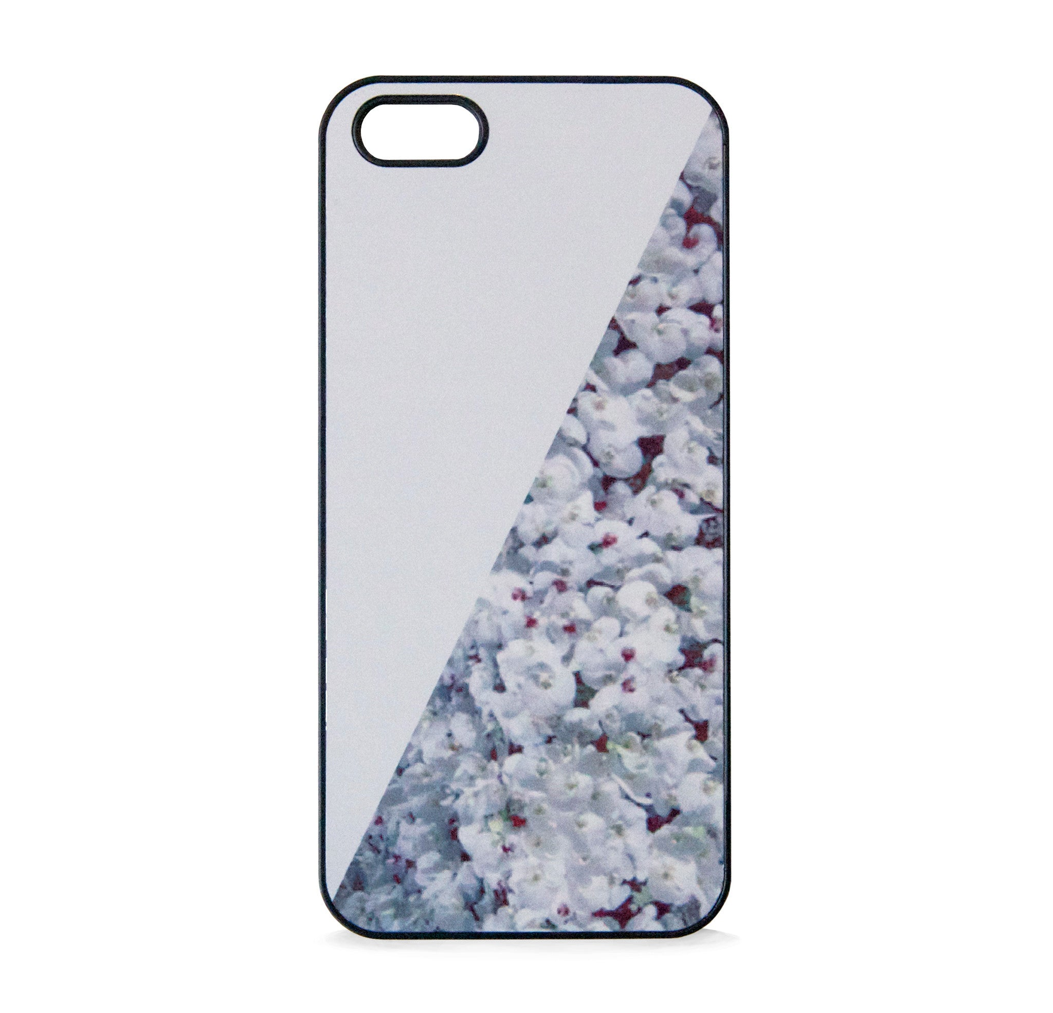 FLORAL PRINT WHITE FOR IPHONE 5/5S, IPHONE SE