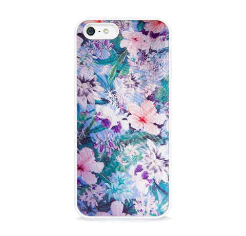 ARTISTIC FLORAL PATTERN PINK FOR IPHONE 5/5S, IPHONE SE