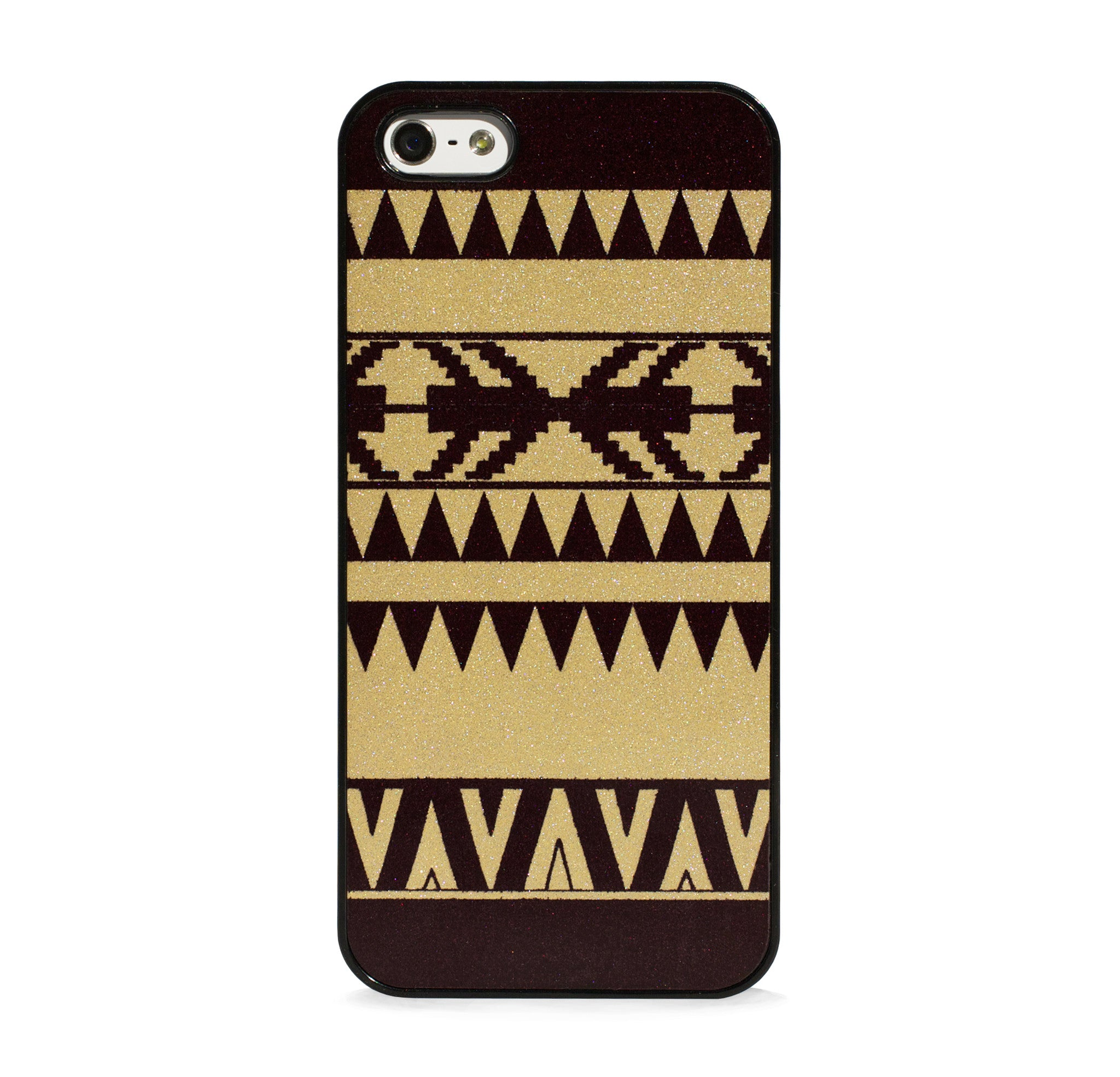 GLITTER GOLD AZTEC FOR IPHONE 5/5S