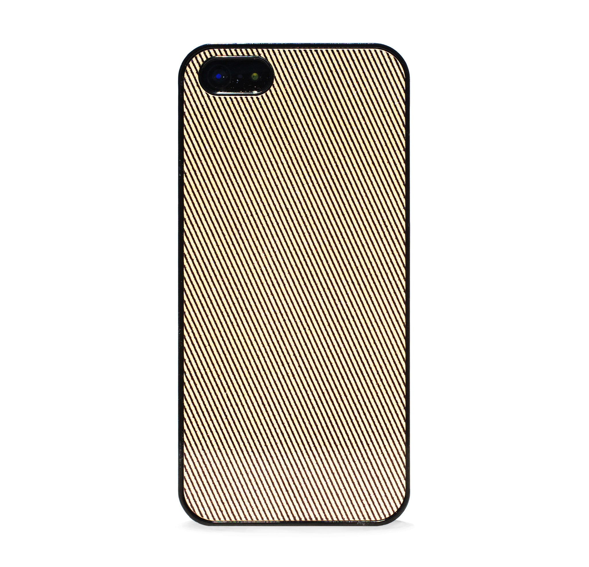 COLOR BLOCK METAL GOLD LINE IPHONE 5/5S CASE