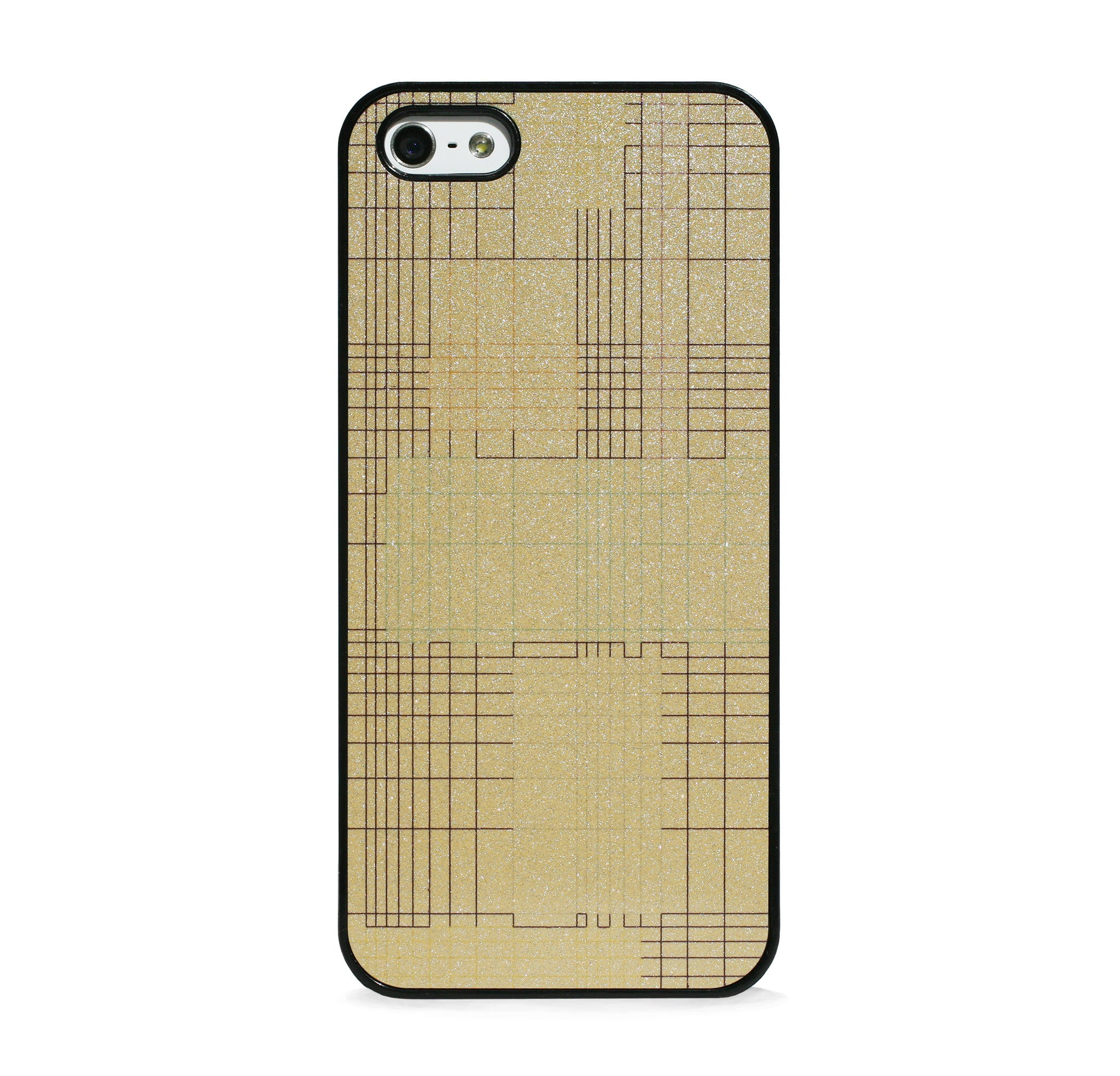 GRID IN GOLD FOR IPHONE 5/5S, IPHONE SE