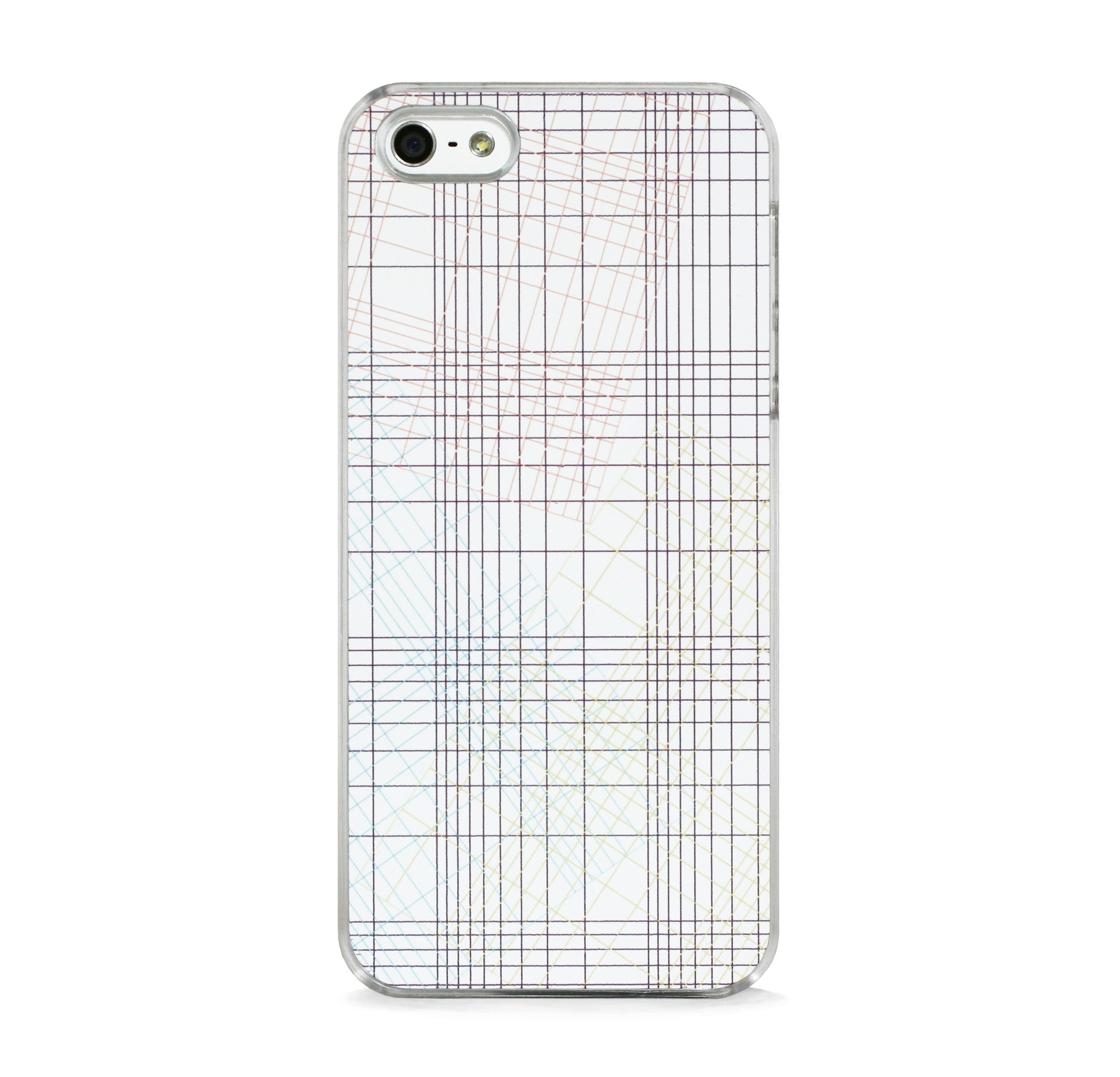 GRID IN WHITE FOR IPHONE 5/5S