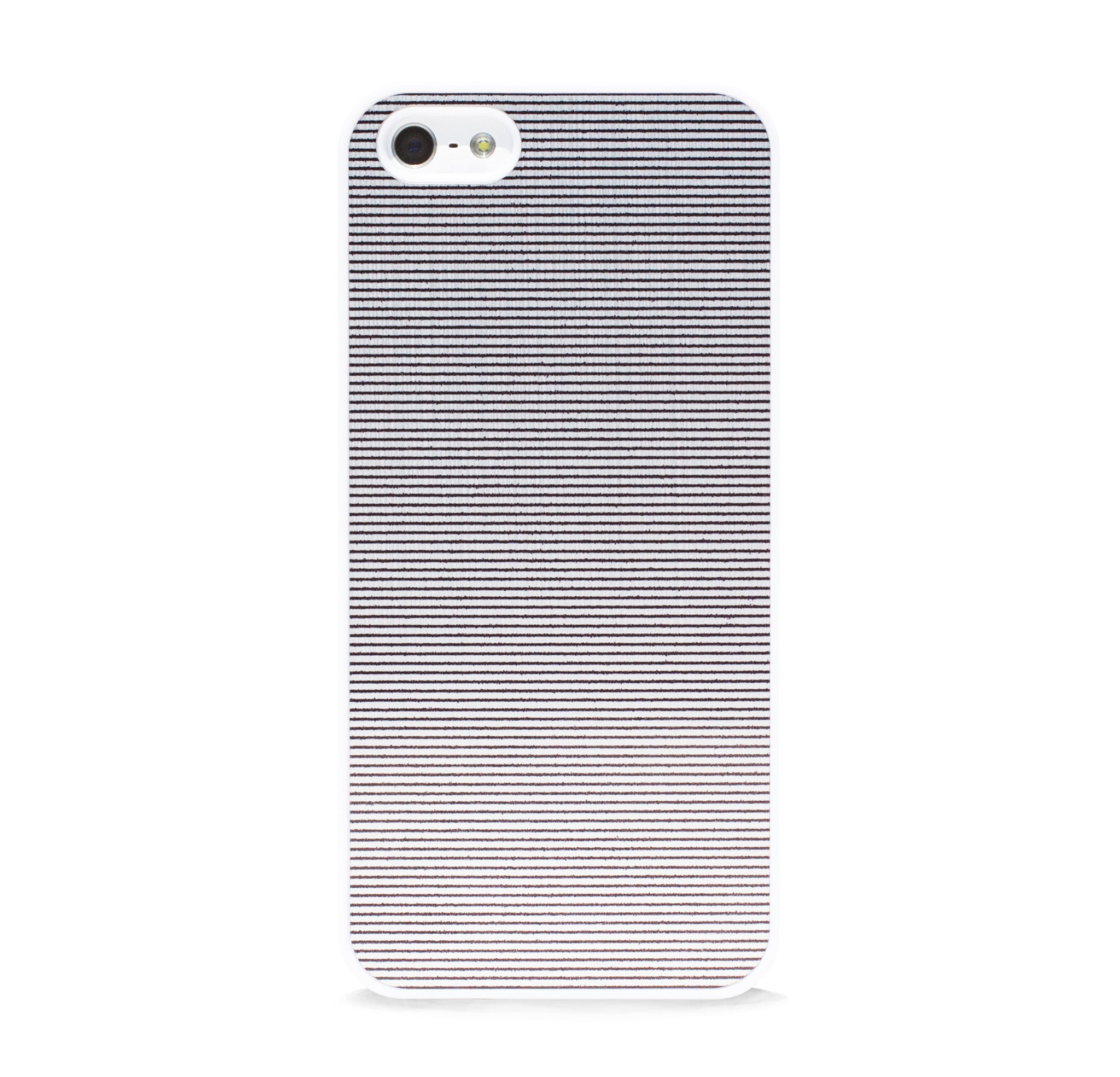 COLOR BLOCK METAL SILVER LINE IPHONE 5/5S CASE